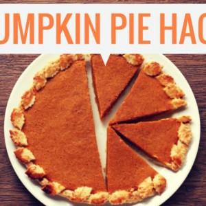 Fall Nutrition Hacks for Pumpkin Pie