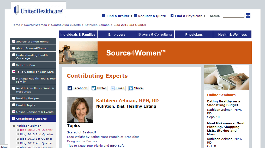 Kathleen's Source4Women Blog
