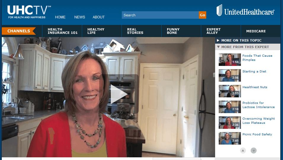 Kathleen's UHC video series