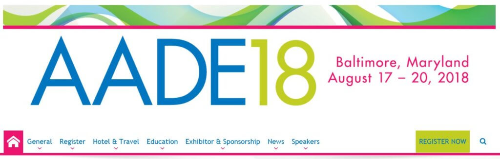 The American Association of Diabetes Educators annual meeting