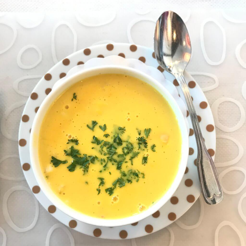 Fish soup with saffron at Emma's drommekjokken