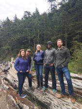 ginger hultin hiking