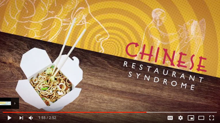 Chinese Restaurant Syndrome? MSG Info