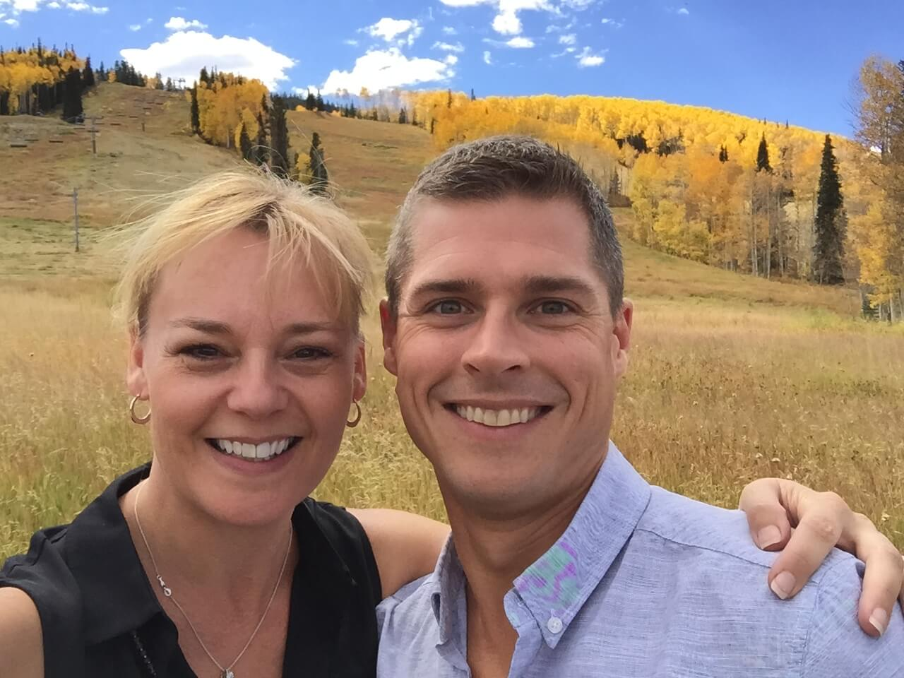 Melissa and Taylor in Aspen