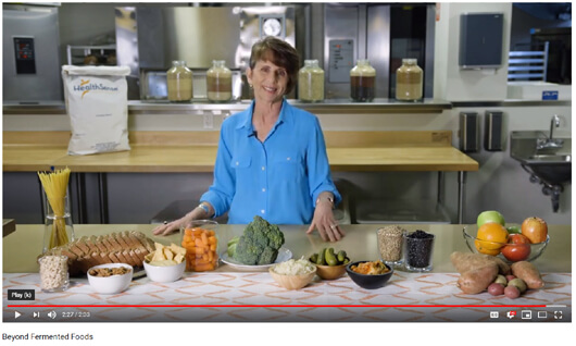 fermented foods video jill weisenberger