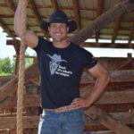 Lance Pekus on his ranch