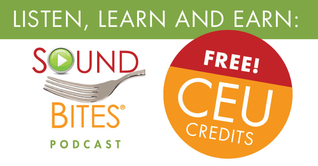 Earn Free CEUs by Listening to the Sound Bites Podcast