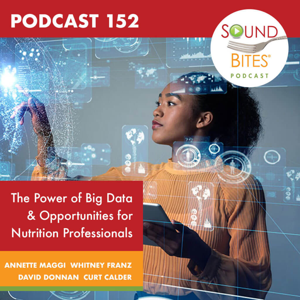 Sound Bites Podcast® 152: The Power of Big Data and Opportunities for Nutrition Professionals