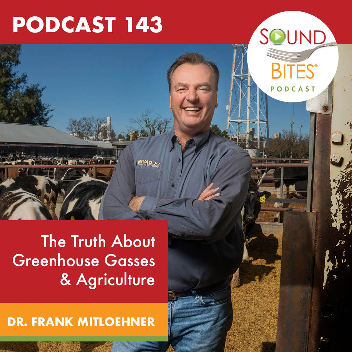 Sound Bites Podcast: Episode 143 The Truth About Greenhouse Gases & Agriculture – Dr. Frank Mitloehner